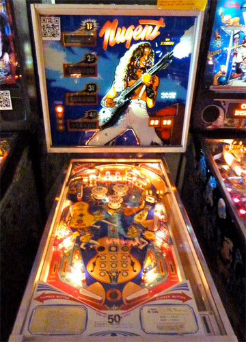 Ted Nugent Pinball Machine For Sale Stern Used 1978