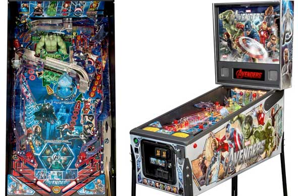 Avengers Pinball Machine For Sale Stern