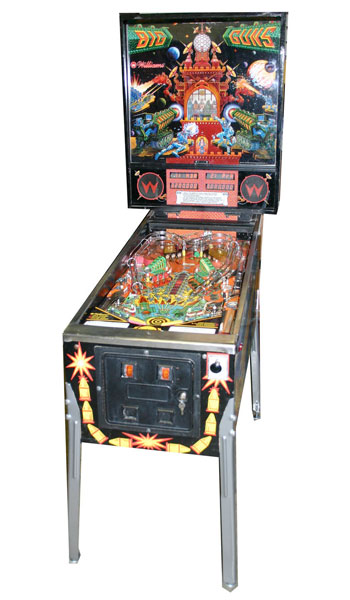 Big Guns Pinball Machine For Sale Used
