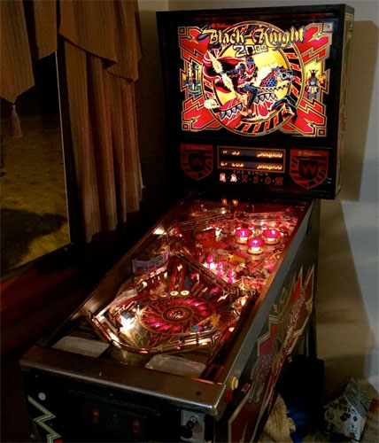 black knight pinball machine for sale magnasave magnets