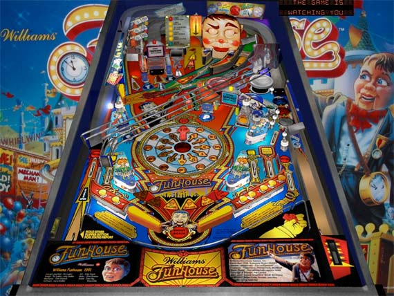 williams funhouse pinball machine for sale