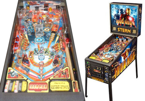 Iron Man Pinball Machine For Sale Stern