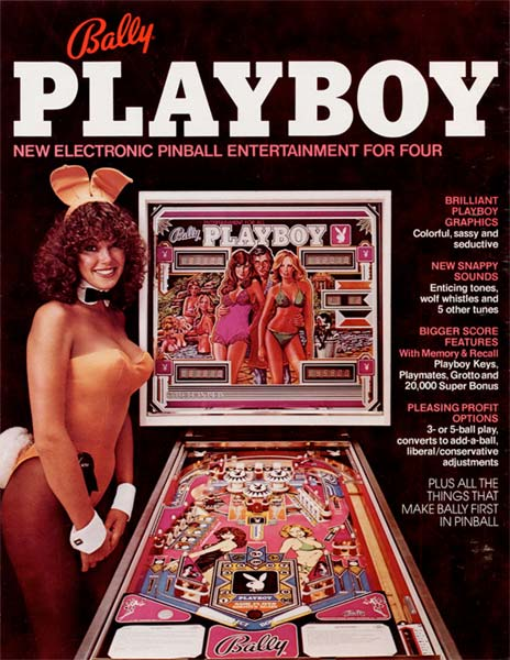 Bally Playboy Pinball Machine For Sale Used Cheap 1978