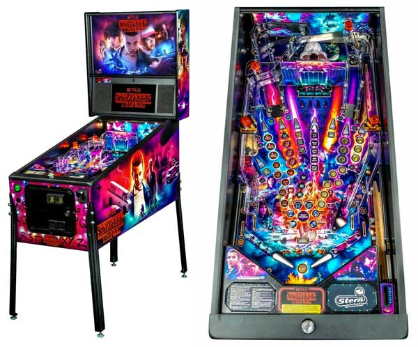 Stranger Things Pinball Machine For Sale Stern