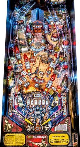 walking dead pinball machine for sale